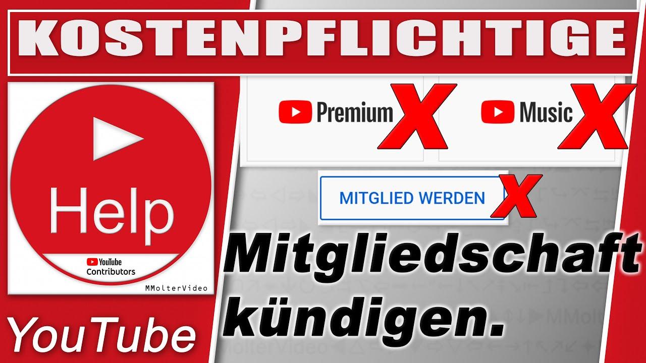 Kanal Mitgliedschaft & YouTube Premium kündigen und verwalten - so geht's  in der YouTube App