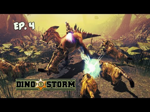 """Dino Storm: Ep. 4 -  """"Helping The Townsfolk"""""""