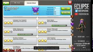 Clash of Clans Getting my base roasted by the one and only Eclipse!