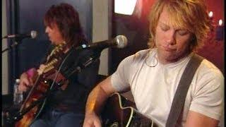 Bon Jovi - Acoustic AOL Sessions in Burbank, CA 2002 [FULL]