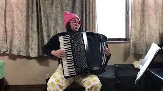 昭和歌謡 誰か故郷を想わざる Accordion - mayuko fukuda.