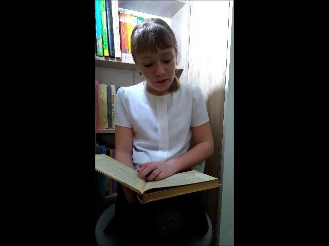 Изображение предпросмотра прочтения – ЯнаГригорьева читает произведение «Как хороши, как свежи были розы...» И.С.Тургенева