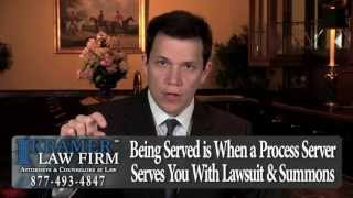 Orlando Foreclosure Attorney - What Does it Mean to be Served?