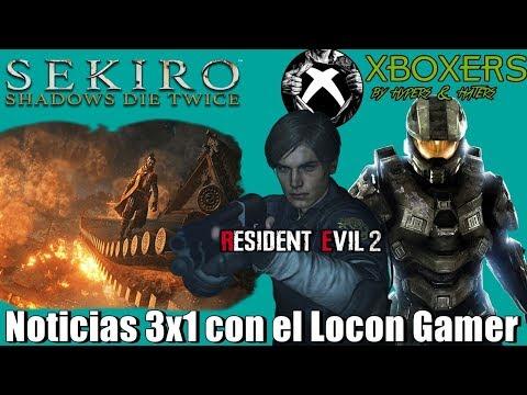 Los Xboxers a otro nivel | Sekiro el Tenchu que esperábamos  | Altos mancos con la DEMO de RE2