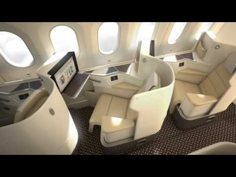 SAUDIA new Boeing 787-9 Dreamliner interior