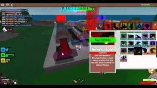 Roblox::Miner's haven How To Make sx Fast
