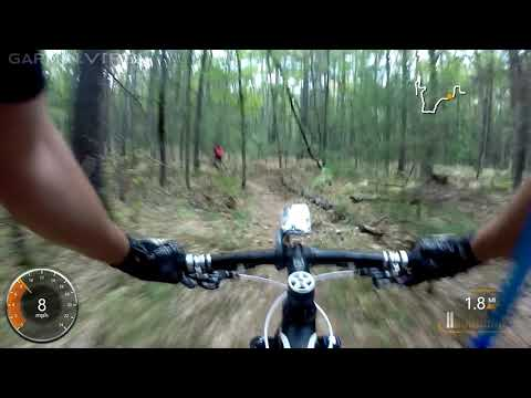 Lost Lake and Lake Ann Ride MTB Single Track Lake Ann, MI 10.03.17