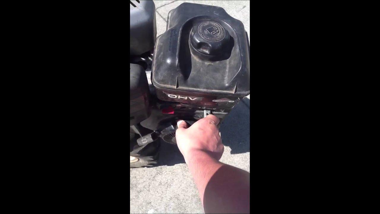 yard machine rototiller manual