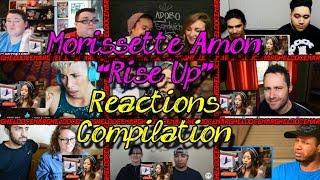 Video Morisette Amon - Rise Up on Wish 107.5 (Reactions Mashup) download MP3, 3GP, MP4, WEBM, AVI, FLV Juli 2018