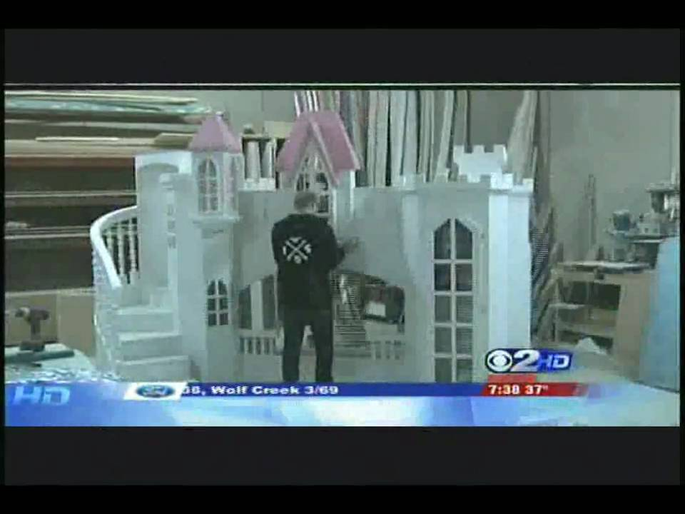 Tanglewood design how to build a castle fast youtube for How to build a castle bed