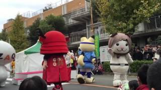 2016/11/27 志木市民まつり かっぱだよ!全員集合! ニャジロウ 与次郎 真...