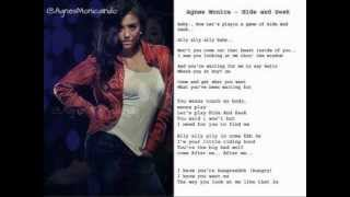 Agnes Monica - Hide and Seek (Lyrics on Screen) (Audio)