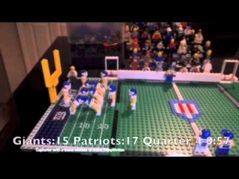Lego Super Bowl 46 - YouTube