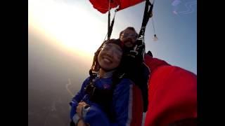 Dongqing Li 39 s Tandem skydive