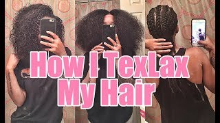 Baixar How I TexLax My Hair!!!! | VERY Detailed & Beginner Friendly Tutorial!!