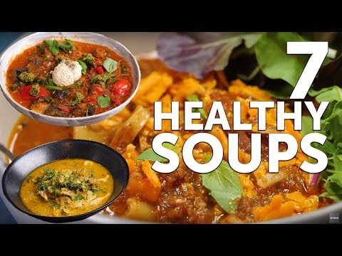 7 HEALTHY Hearty Soups! (EASY) ��