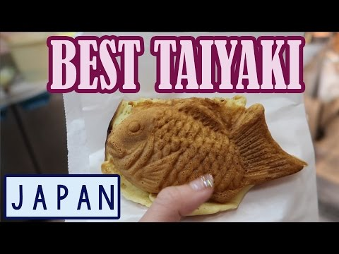 BEST Taiyaki in JAPAN! | Den Den Town in Osaka