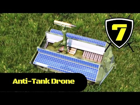 Dahir Insaat - Russian Unmanned Drone System Anti-Tank Simulation