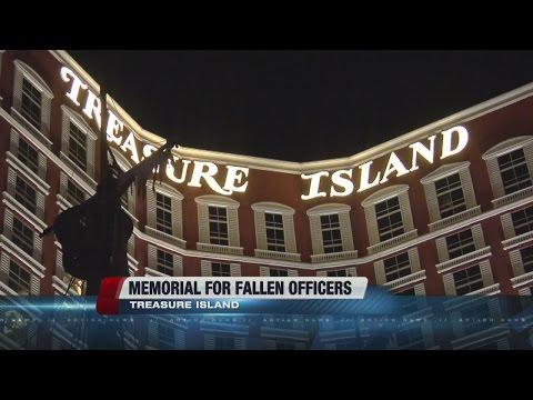 Special display at Treasure Island honors fallen Los Angeles officers