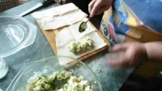 Сыр жареный в лаваше