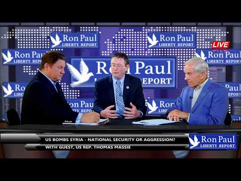 US Bombs Syria - National Security Or Aggression? With Guest, US Rep. Thomas Massie
