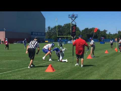 Giants training camp sights and sounds: Eli Manning, Eli Apple, Brandon Marshall