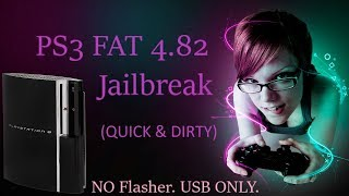 PS3 FAT Jailbreak w/USB - 2018 (No Flasher)