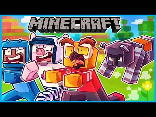 we did a village raid and everyone died... Minecraft ep 11 (VERY SAD)