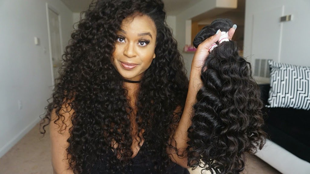I Wear Glam Brazilian Deep Wave Unboxing Youtube