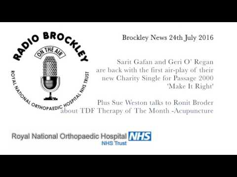 Brockley News 24th July 2016 - Passage 2000 Charity Single