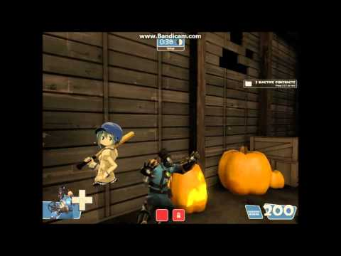 Team Fortress 2 (PC) - Gorge Event online match (Halloween special)