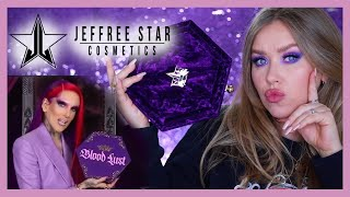 Палетка BLOOD LUST от JEFFREE STAR I 7 макияжей I Няшка или говняшка?!