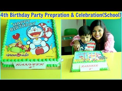 4th Birthday Vlog School Party Prepration & Celebration |SuperPrincessjo
