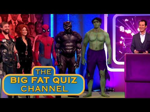 Tribute to Stan Lee | Big Fat Quiz Of The Year 2018