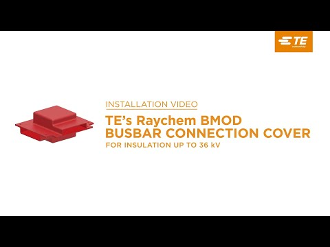TE's Raychem Busbar Connection Covers: Insulate Energized Busbars