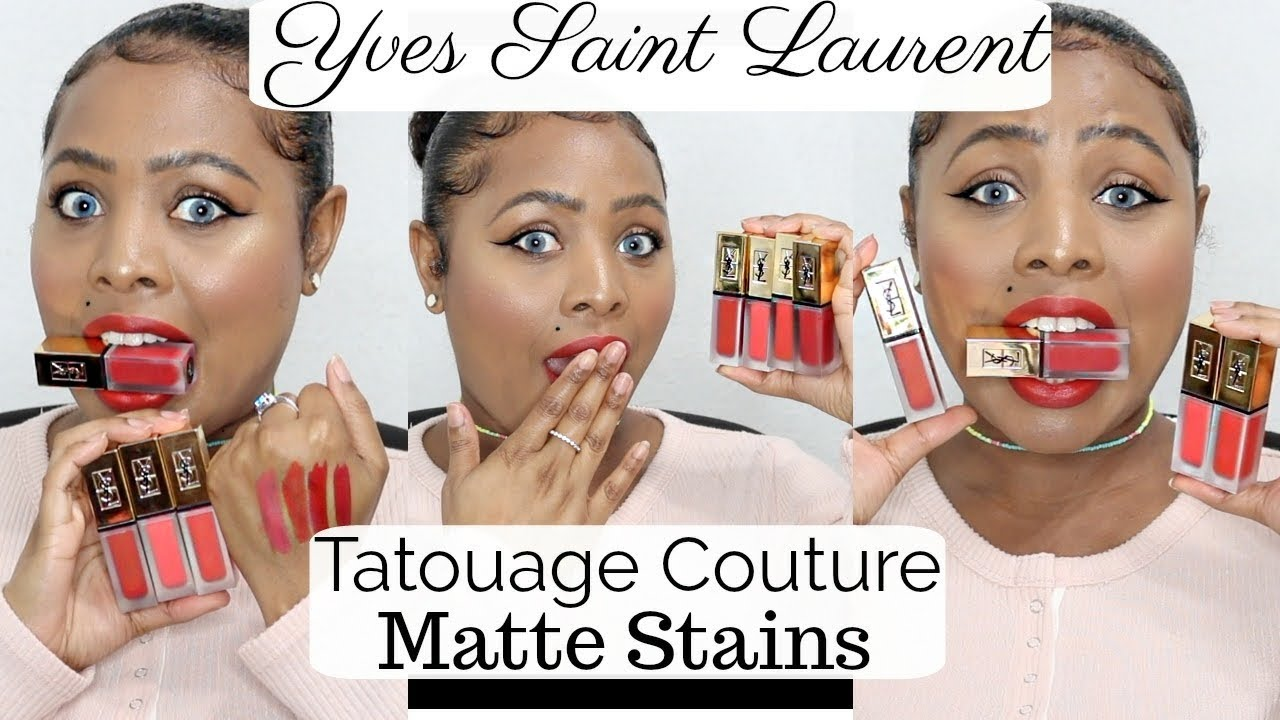 New Ysl Tatouage Couture Matte Stains 1st Impressions