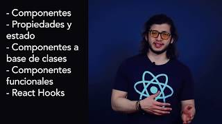 video Introducción Curso Tutorial de React y React Hooks actualizado 2020