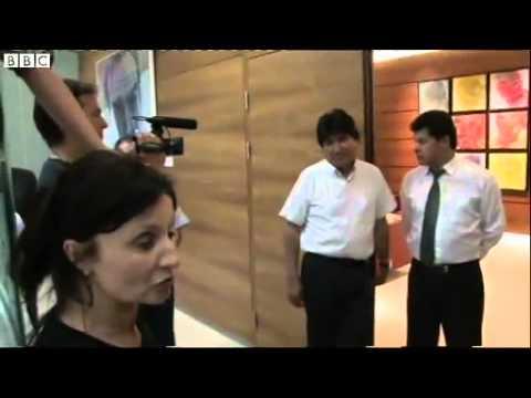 BBC News   Bolivian president Evo Morales stranded over Snowden rumour