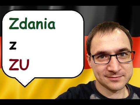 """Zdania z """"zu"""" - język niemiecki - gerlic.pl"""
