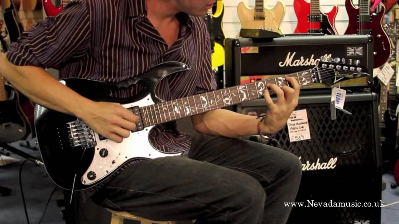 Ibanez Steve Vai Jem77v Guitar Demo