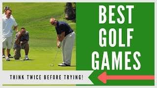 ✅ 25+ GOLF GAMES TO PLAY ON THE COURSE (1-12 GOLFERS)