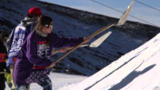 Sierra Nevada inicia la construcción del snowpark Sulayr 2013-14