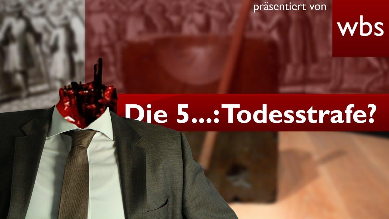 Die 5 Kuriosesten Gesetze Die Todesstrafe In Deutschland Rechtsanwalt Christian Solmecke Youtube