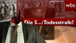 Die 5 kuriosesten Gesetze: Die Todesstrafe in Deutschland? | Rechtsanwalt Christian Solmecke