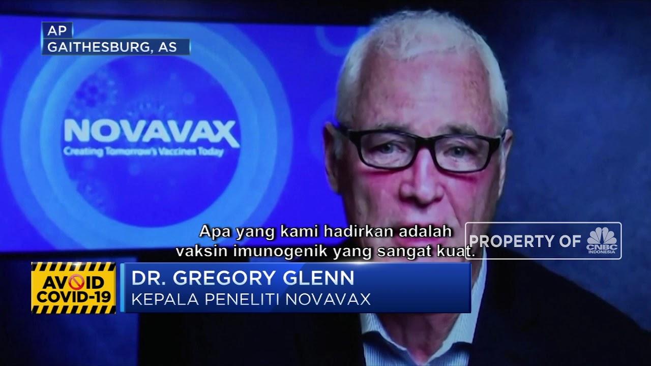 Perusahaan Bio Teknologi Novavax Uji Coba Vaksin M