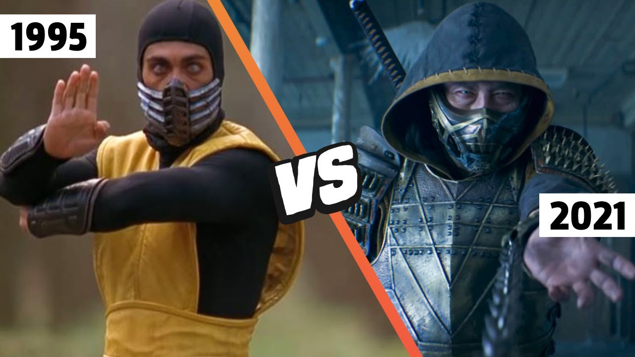 Download MORTAL KOMBAT Movie Side By Side Comparison (2021 vs 1995)