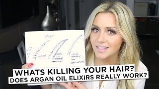 Whats Killing your hair? & Does Argan Oil Elixirs Really Work?