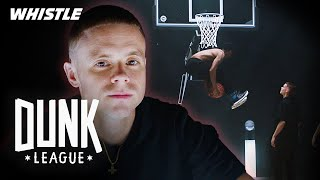 CRAZY Alley-Oop Challenge With PROFESSOR LIVE | $50,000 Dunk Competition Video