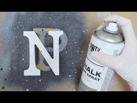 3 efectos granito con pintura en spray spray recetas iii - Aerosol efecto piedra ...
