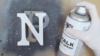3 efectos granito con pintura en spray (Spray Recetas III)